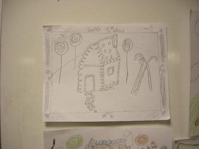 Gingerbread house drawings by kids 03