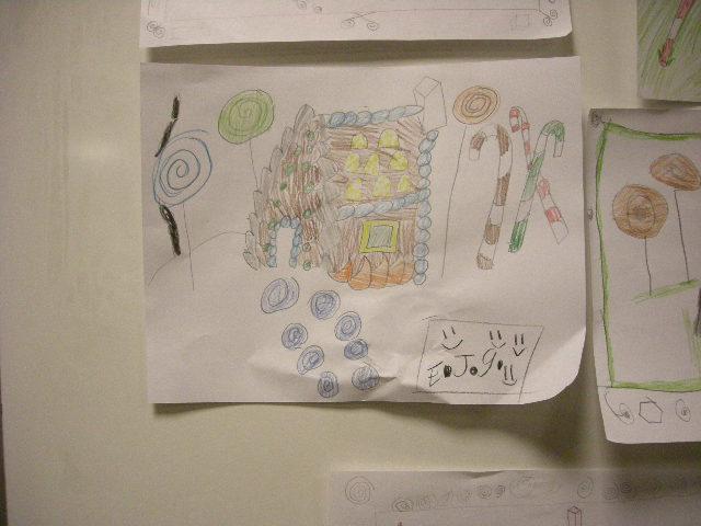 Gingerbread house drawings by kids 02