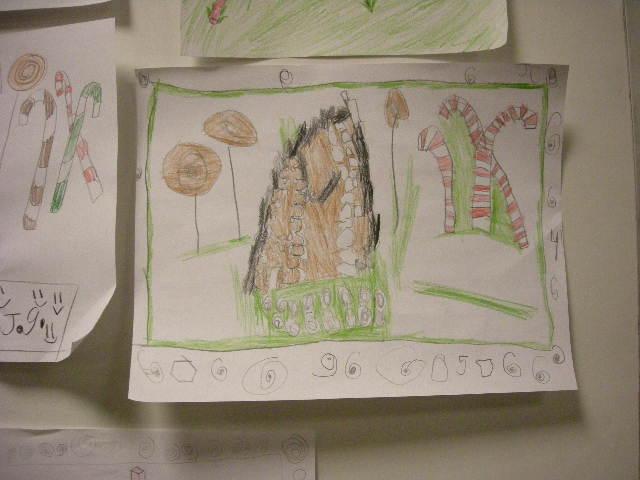 Gingerbread house drawings by kids 01