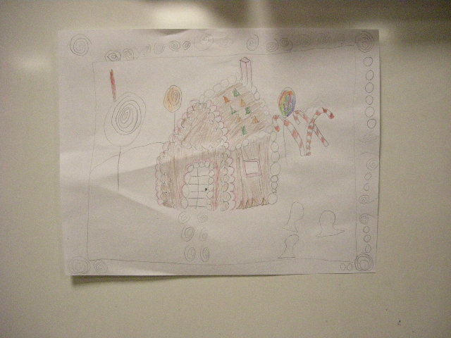 Gingerbread house drawings by kids 04