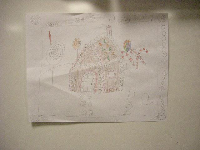 Gingerbread house drawings by kids 04