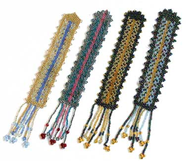 beaded jewelry bookmarks