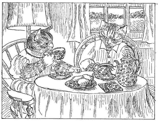 table setting coloring pages - photo #46
