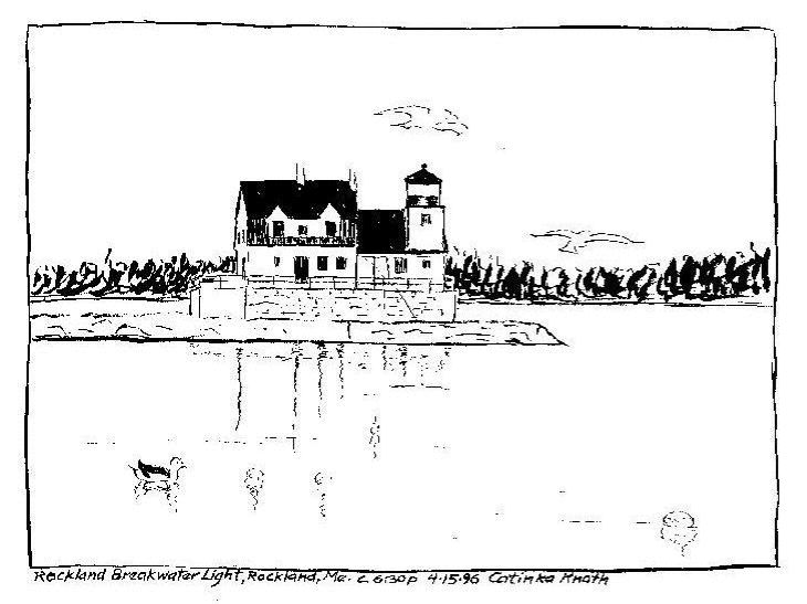 Maine Animals Coloring Pages : Free coloring pages of maine lighthouses