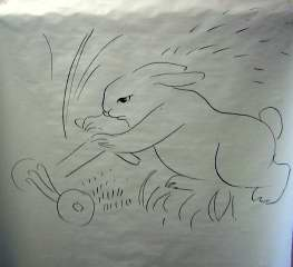 rabbit drawing