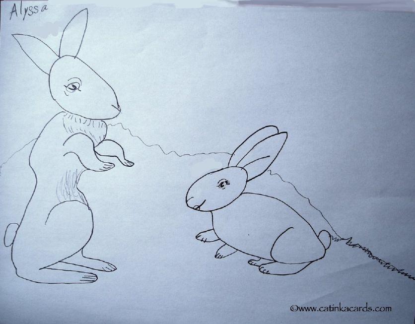 kids animal art