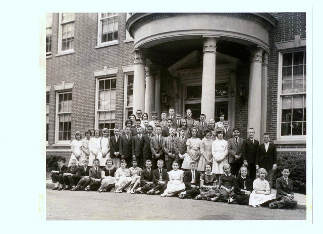 photo - 6th grade, 1961 Edgemont Elementary school, Montclair NJ
