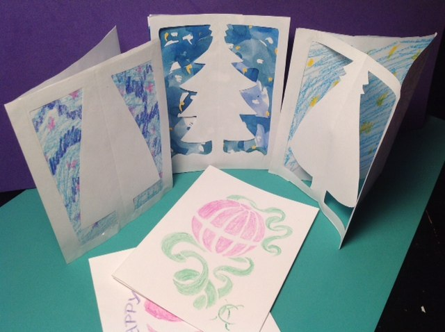 Christmas holiday cards by Catinka Knoth
