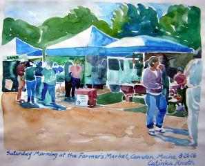 Camden Farmers Market art