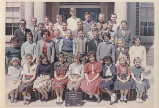 photo - 6th grade, 1963 Edgemont Elementary school, Montclair NJ