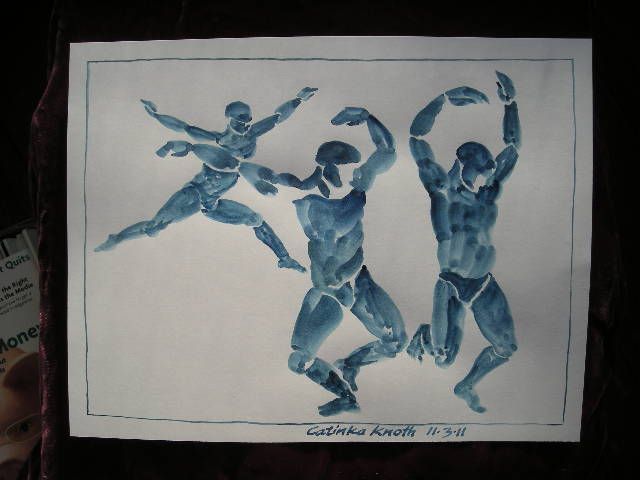 dance figure inventions B by Catinka Knoth