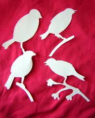 bird papercuts