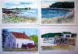 Owls Head Maine watercolors