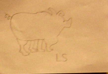 kids' animal drawings
