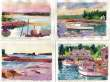 Spruce Head Maine scenes