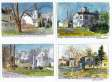 Thomaston Maine card set
