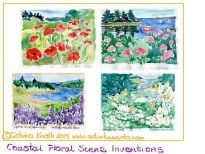 Maine notecards